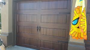 Single Car Garage Amarr Carriage Garage Door In Rocklin Ca 916 218 4931