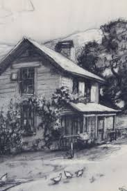 charcoal drawing davis f schwartz 1879 1969 at 1stdibs