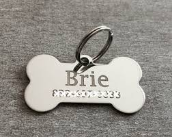 engravable dog tags for men engraved dog tag etsy