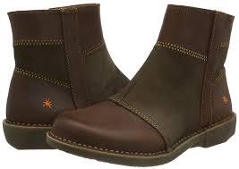 art heels art women u0027s bergen ankle boots black wax shoes art