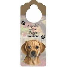 puggle ornament with unique dangling legs painted and easily