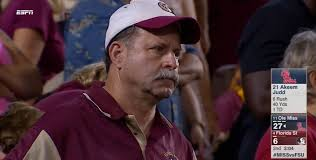 Florida State Memes - espn screen cap frustrated florida state dad know your meme