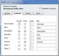 quickbooks for restaurants accountex report
