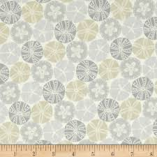 splash home decor splash sand dollar neutral from fabricdotcom designed by alex