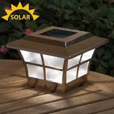 solar powered deck post lights 28 best solar powered led lights images on pinterest tool shop solar