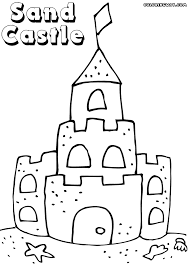 Sandcastle Coloring Pages Coloring Pages To Download And Print Sandcastle Coloring Page