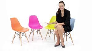 replica eames dsw side chair plastic from matt blatt youtube