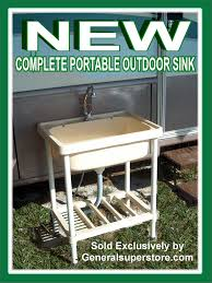 Garden Sink Ideas Portable Outdoor Kitchen Sink Kitchen Design Ideas