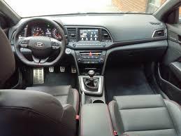 test drive 2017 hyundai elantra sport with manual transmission