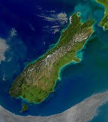 Air New Zealand Route Map by South Island Wikipedia