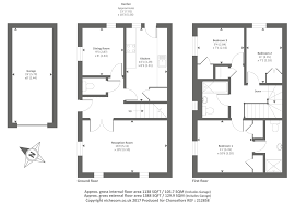 semi detached floor plans witney oxfordshire ox28 3 bedroom semi detached house to rent