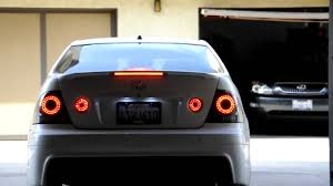 lexus is300 jdm mmsport led taillights lexus is300 youtube
