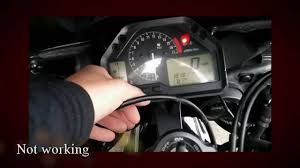honda cbr 600 speedometer gauge problem fix youtube