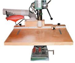 Drill Press Table Drill Press Table U0026 Fence Canadian Woodworking Magazine