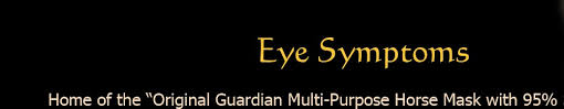 Signs Of Blindness In Horses Equine Recurrent Uveitis Eru Aka Moonblindness