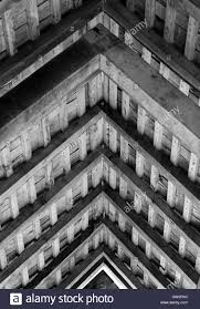 Barn Roof Angles Ancient Oak Timber Barn Roof Angles In Monochrome Stock Photo