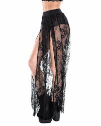 lace skirt lace sheer front tie maxi skirt iheartraves
