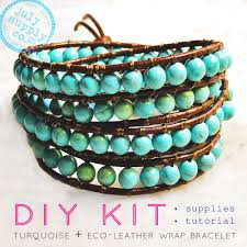 beaded wrap bracelet tutorials images Diy leather bracelet with beads crafthubs jpg