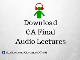 ca final audio lectures for nov 2016 free download