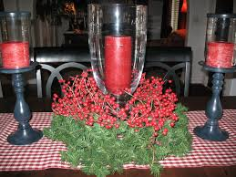 engaging diy christmas centerpieces design with clear glass vase