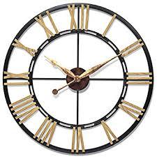 Giant Wall Clock Amazon Com Infinity Instruments Cologne Oversized Wall Clock