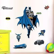 Batman Boys Bedroom Popular Batman Wall Sticker Buy Cheap Batman Wall Sticker Lots