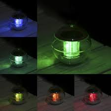 Floating Solar Pond Lights - solar floating lamp led water pond lights outdoor colorful ball