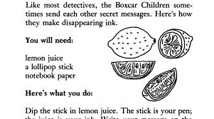 activities the boxcar children