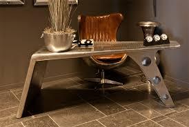 designer schreibtische casa padrino luxus designer schreibtisch aviator desk aluminium