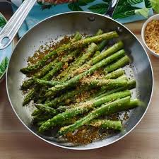 pan roasted asparagus with garlic and lemon zest williams sonoma
