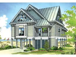 Coastal Cottage Plans by Caspar Beach Coastal Home Plan 020d 0250 House Plans And More
