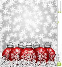 red snowflake ornaments on snow stock image image 22368331
