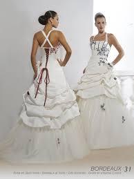 robe mari e bordeaux robe de soirée ivoire et bordeaux relooking et coiffure en image