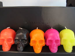 neon skull candles the hostess handbook