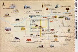 map of xi an xi an travel maps printable hi res tourist map of xian china