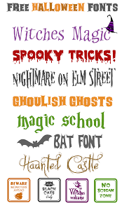 free halloween fonts u0026 ways to use halloween fonts