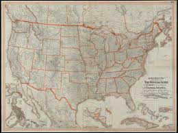 Southwest United States Map by The Southwestern Railroad System United States And Mexico