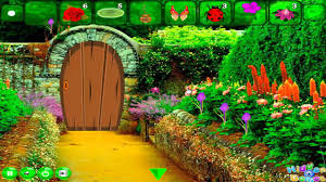 backyard flower garden escape walkthrough hiddenogames youtube