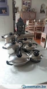batterie de cuisine amc batterie de casseroles amc a vendre 2ememain be