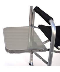 Folding Directors Chair With Side Table Mesmerizing Folding Directors Chair Aluminum Novoch Me