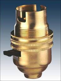 table l bulb holder with switch brass l holder manufacturer from jamnagar