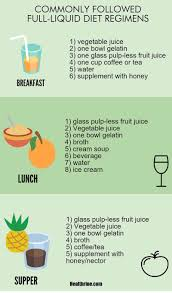 full liquid diet menu foods and diet plan infographic2 healthy
