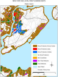 Map Of Long Island New York by Sea Level Rise Planning Maps Likelihood Of Shore Protection