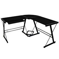 Bush Furniture Wheaton Reversible Corner Desk by Corner Computer Desk