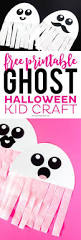 this free printable ghost halloween craft would be a great