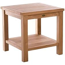 Teak Side Table Teak Side Table Made By Chic Teak Made From A Grade