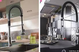 accessoire robinet cuisine mitigeur avec douchette robinet de cuisine s équiper maison