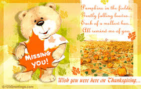 quotes thank you thanksgiving miss you cards missing you on this