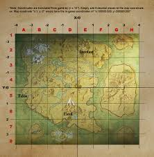 World Map With Coordinates by Made A Map That Aligns With In Game Coordinates Has Grid Callouts