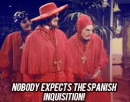 Spanish Inquisition Meme - nobody expects the spanish inquisition gif 4 gif images download